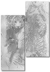 Тигр в зарослях