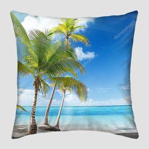 Пальмовый остров в Карибском море