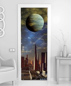 Земля над инопланетным городом