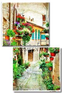 Цветочные улицы итальянского Спелло