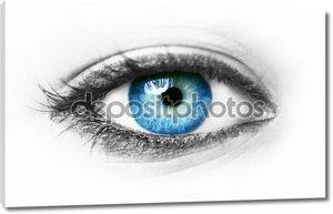 Синий глаз