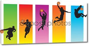 баскетбольный хлопок Данк