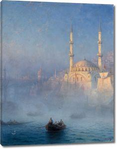 Айвазовский. Константинополь. Мечеть Топ-Кан