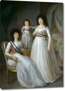 Эстеве и Маркес Агустин. Герцогиня Осуна как покровительница Ордена благородных девиц и королева Мария-Луиза