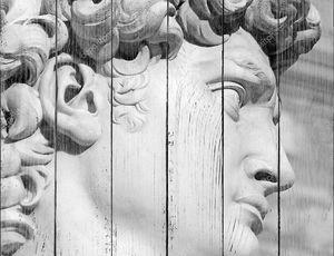Лицо Давида авторства Микеланджело