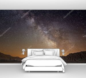 Млечный путь на закате