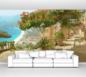 Вид с террасы на побережье