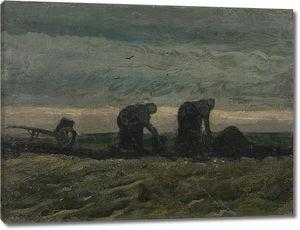Ван Гог. Две крестьянки на торфяных полях