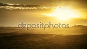Закат в Австралии