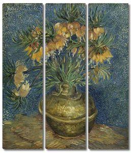 Ван Гог. Натюрморт с рябчиками в медной вазе