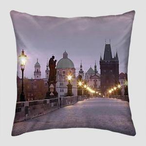 Прага Карлов мост рассвет