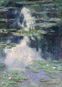 Клод Моне. Кувшинки 1907