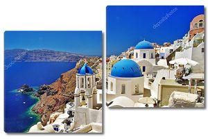 Знаковое греческое место - Санторини