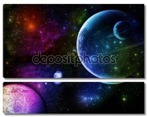 Цветные планеты