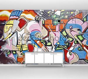 Граффити молодежная