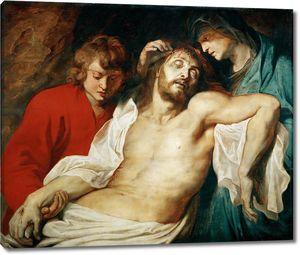 Рубенс. Оплакивание Христа Марией и апостолом Иоанном