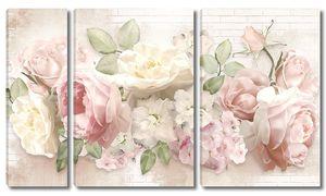 Пастельные розы