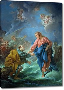 Франсуа Буше. Святой Петр, пробующий идти по воде