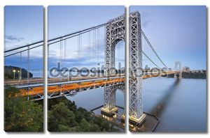 мост Джорджа Вашингтона, Нью-Йорк.