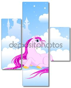 Волшебный Розовый пони