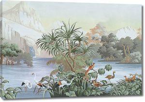 Экзотическое озеро