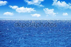Море в спокойный день