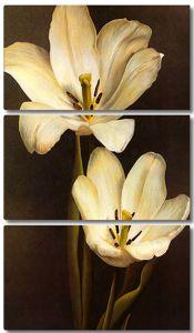 Лилии. Стилизация под живопись