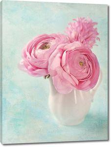 Розовые лютики
