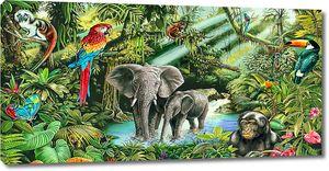 Слоны в тропиках