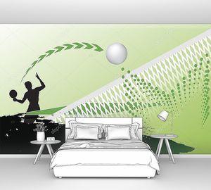 Настольный теннис абстракция