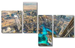 горизонт Дубая, ОАЭ