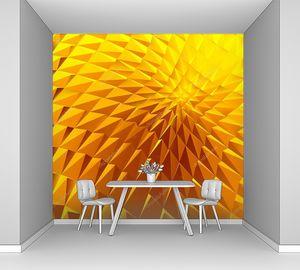 3D яркий полигональный фон