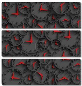 3D Часы время абстрактный фон