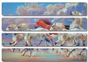 Бег лошадей
