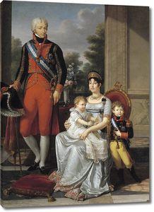 Фабр Франсуа Ксавье. Семья короля Этрурии