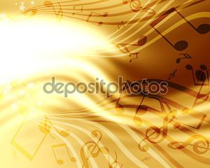 Фон с музыкой
