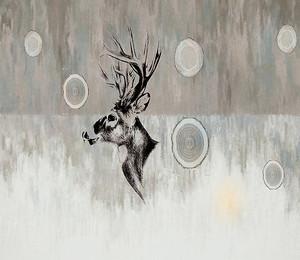 Профиль оленя