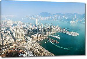 Панорама в Гонконг