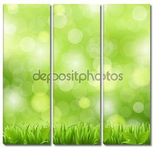 Природа фон с травой