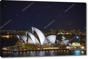 Сиднейский оперный театр в Австралии