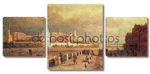 Павел Верещагин - вид Московского Кремля, 1879