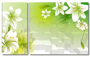 Кубы и лилии