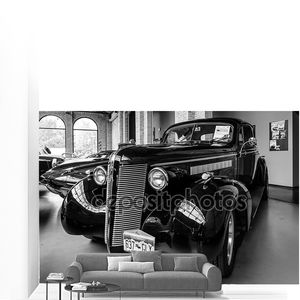 автомобиль buick хотрод бизнес v8 купе