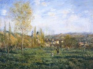 Моне Клод. Весна в Ветей, 1880