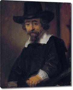 Рембрандт. Портрет мужчины (вероятно, доктора Ефраима Буено