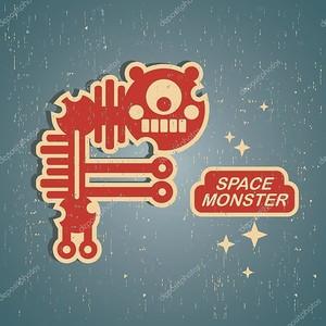 Retro monster.