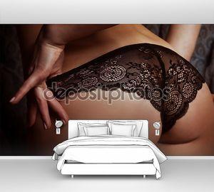 Женщины сексуальные ягодицы в бикини