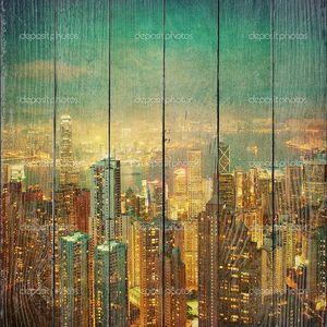 Старинные изображения Гонконга