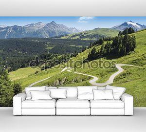 Извилистый путь Пешие прогулки в Альпах, Австрия