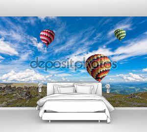 Воздушные шары в небо